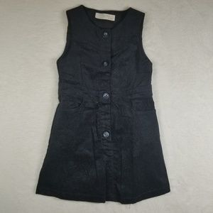 Zara Corduroy Dress Girl Size 6